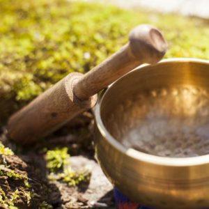 Original OM Tibetan Singing Bowl